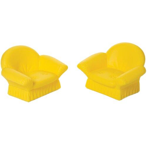 ОГОНЁК Кресла мягкие (С-1491) желтый мягкие кресла