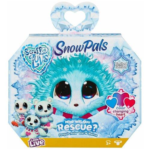 Мягкая игрушка-сюрприз Scruff a Luvs Няшка-потеряшка Snow Pals