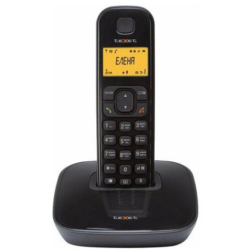 Радиотелефон teXet TX-D6705A черный