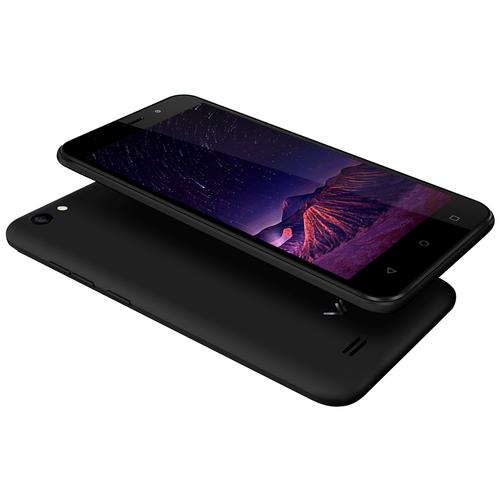 Смартфон VERTEX Impress Luck NFC (4G), глубокий графит смартфон vertex impress luck nfc lte black