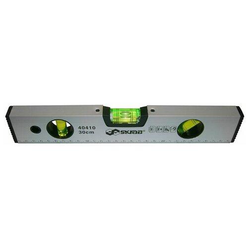 Уровень 800мм магнит. облегченный 3-х гл. Al SKRAB 40413