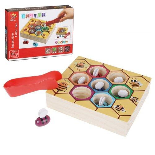 Купить Обучающая игра Наша Игрушка Головоломка, с ухватом для пчел (HXH2019071102-13), Наша игрушка, Настольные игры