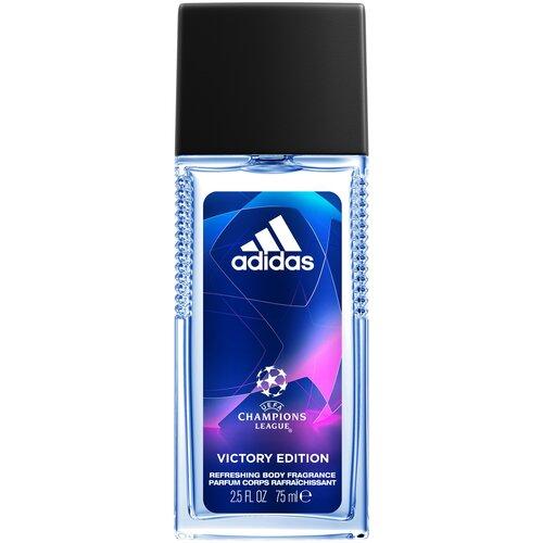Парфюмированный спрей adidas UEFA Champions League Victory Edition Body Fragrance, 75 мл недорого
