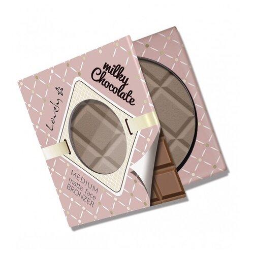 Lovely Бронзирующая пудра Milky Chocolate Bronzer молочный шоколад