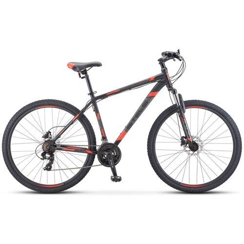 велосипед stels navigator 900 d 29 f010 21 серебристый синий Горный (MTB) велосипед STELS Navigator 900 D 29 F010 (2020) чёрный/красный 17.5 (требует финальной сборки)