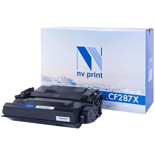 Фото - Картридж NV Print CF287X для HP, совместимый картридж nv print cf400a для hp совместимый