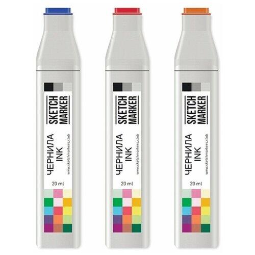 Заправка для маркеров Sketchmarker на спиртовой основе FL2 Флуоресцентный оранжевый SI-FL2 sketchmarker маркер brush fl2 fluorescent orange