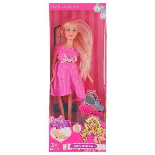 Купить Кукла Наша Игрушка Будущая мама, 3 предмета (6625A2), Наша игрушка, Куклы и пупсы