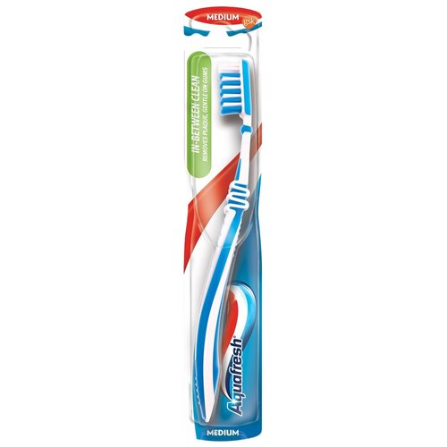 Зубная щетка Aquafresh In-Between Clean, голубой