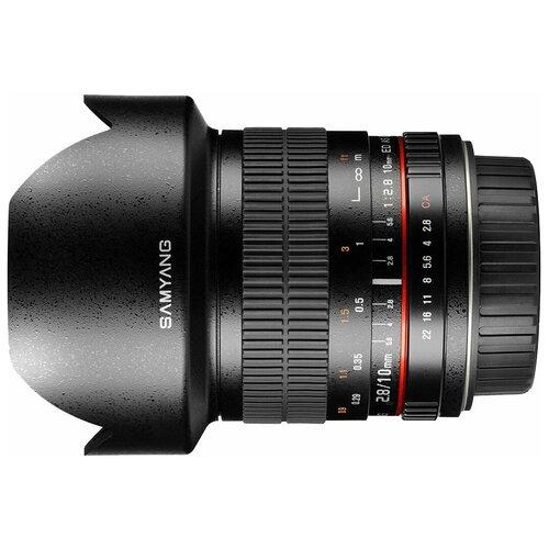 Фото - Объектив Samyang 10mm f/2.8 ED AS NCS CS Fujifilm X объектив samyang 85mm f 1 8 ed umc cs fujifilm x