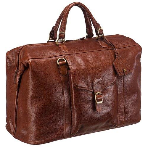 Саквояж Dr.Koffer B275540-02, светло-коричневый