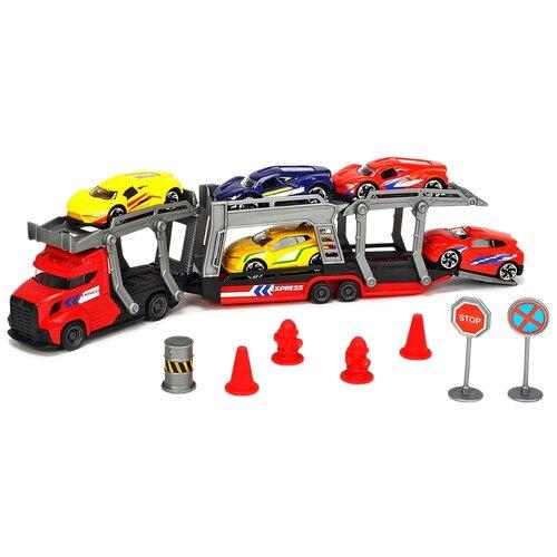 dickie toys набор dickie toys команда спасения sos Набор машин Dickie Toys 3745012, разноцветный