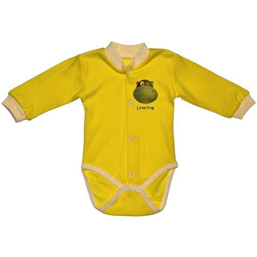 Фото - Боди My fashion Little Froggy размер 74, желтый боди little fox размер 74 белый