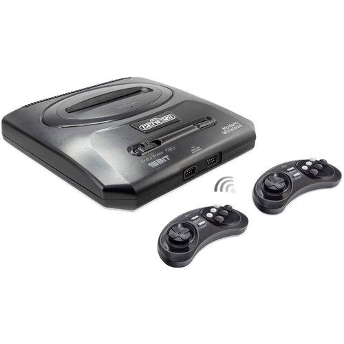 Игровая приставка Retro Genesis Modern Wireless + 300 игр черный