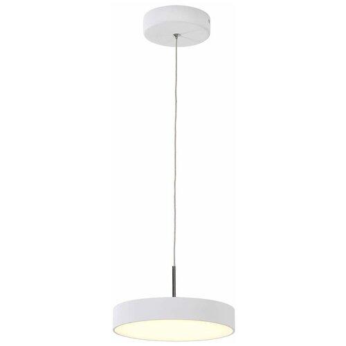 Светильник светодиодный Citilux Тао CL712S180, 18 Вт, цвет арматуры: белый, цвет плафона: белый светильник citilux потолочный светодиодный тао cl712x121n
