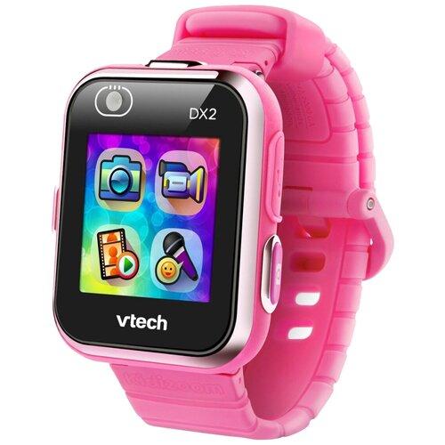 Детские умные часы VTech Kidizoom Smartwatch DX2, розовый