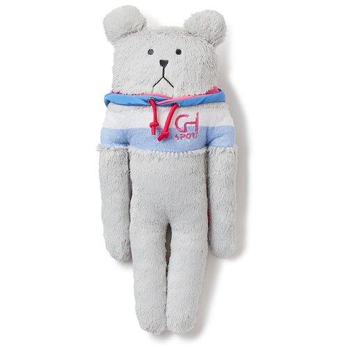 AS1599-02 Sport SLOTH, S / Игрушка мягконабивная с капюшоном, изображающая Медведя