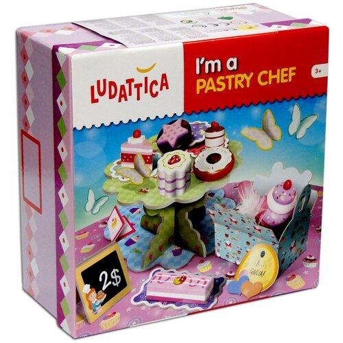 Настольная игра Ludattica Я - кондитер игры для малышей ludattica игра настольная африканская саванна
