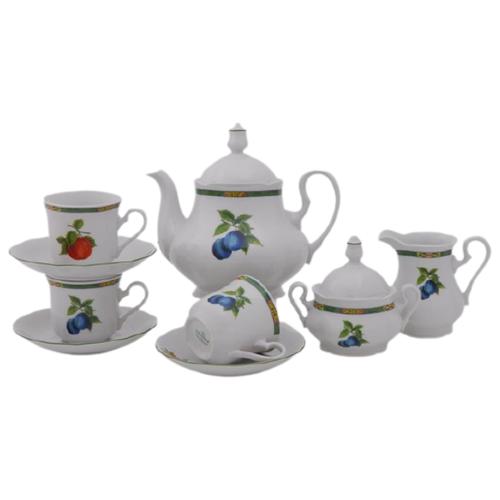 Сервиз чайный Мэри-Энн Фруктовый сад, 15 пр., Leander
