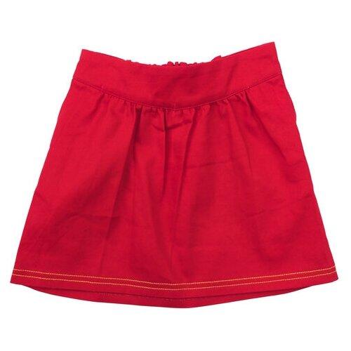 Юбка playToday размер 104, красный худи playtoday размер 104 серый красный