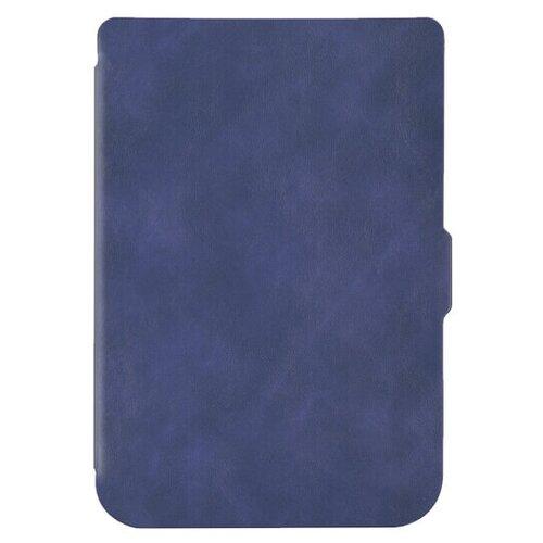Чехол-обложка SkinBox Slim Case для Pocketbook 616/627/632 (синий)