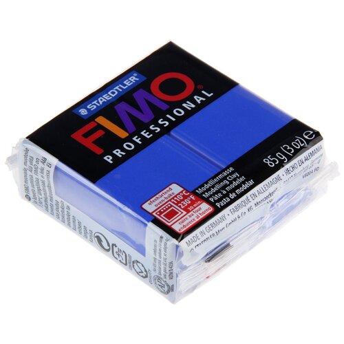 Купить Полимерная глина FIMO Professional запекаемая 85 г ультрамарин (8004-33), Глина