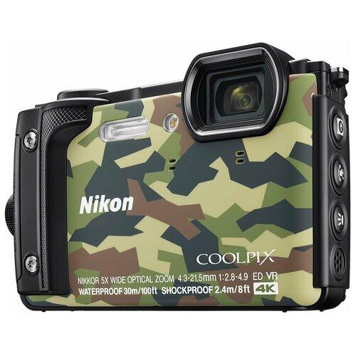 Фото - Фотоаппарат Nikon Coolpix W300 камуфляж фотоаппарат nikon coolpix w300 камуфляж
