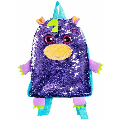 FANCY рюкзак Дракон (RDG01), голубой/фиолетовый