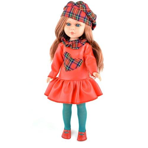 Купить Кукла Vidal Rojas Найя с русыми вьющимися волосами в красном платье, 41 см, 5524, Куклы и пупсы