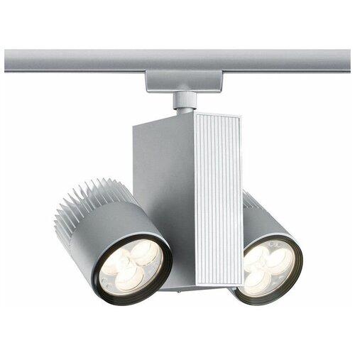 Трековый светильник-спот Paulmann TecLed 95088, 18 Вт, 2 лампы недорого