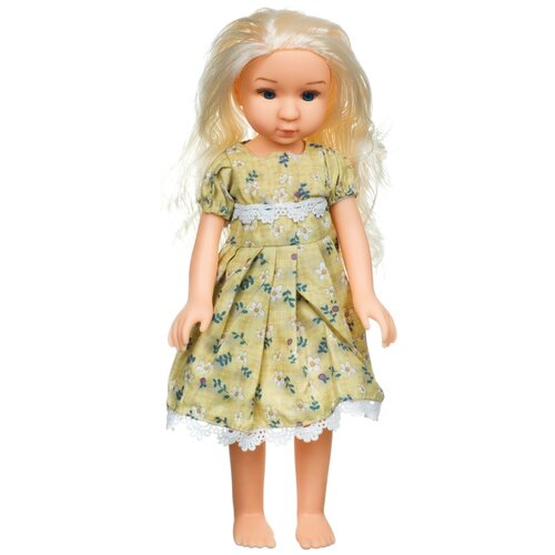 Купить Кукла BONDIBON Oly Очарование Блондинка в желтом платье, 36 см, BB4364, Куклы и пупсы