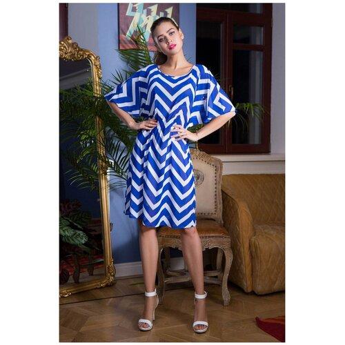 Пляжная туника Mia-Mia Carlin, размер XL(50), синий/белый