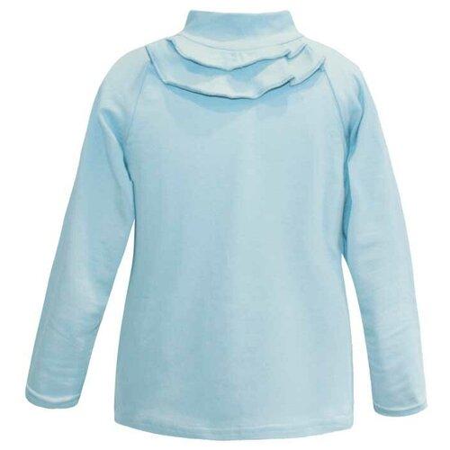 Фото - Водолазка KotMarKot размер 116, голубой блузка mek размер 116 голубой
