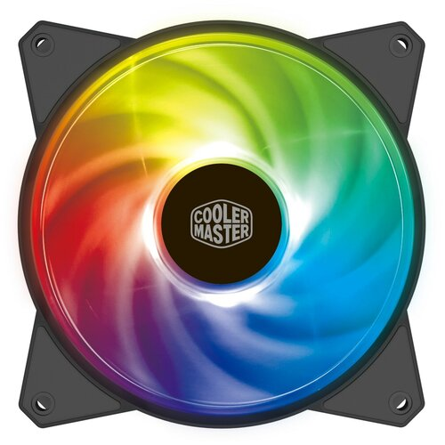Вентилятор для корпуса Cooler Master MasterFan MF120R черный/ARGB 1 шт.