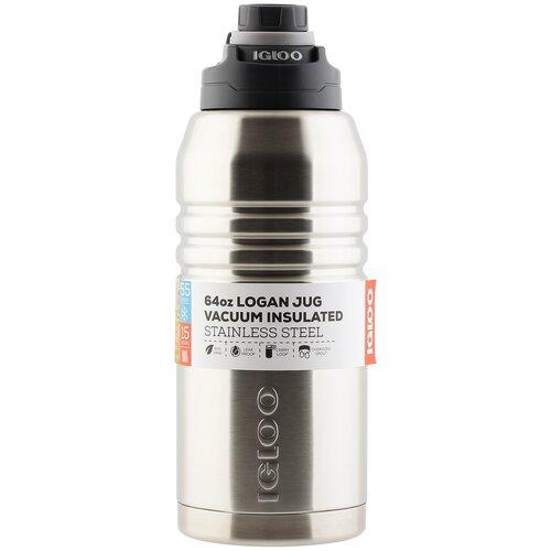Классический термос Igloo Logan 64, 1.9 л steel