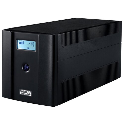 Фото - Интерактивный ИБП Powercom RAPTOR RPT-1500AP LCD источник бесперебойного питания powercom rpt 1500ap lcd 1500ва 900вт
