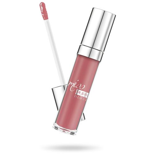Pupa Блеск для губ Miss Pupa Gloss, 302 ingenious pink pupa блеск для губ miss pupa gloss 200 juicy glaze
