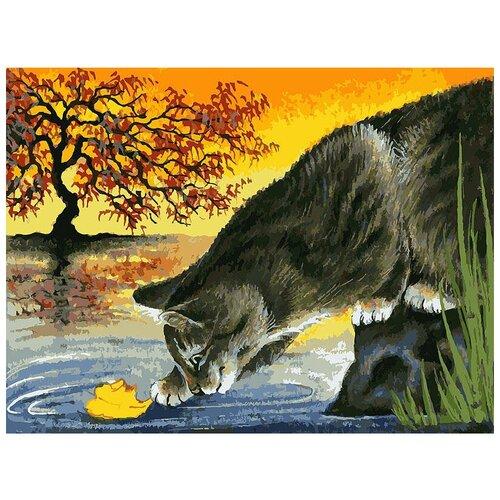Белоснежка Картина по номерам Листок (046-AS) белоснежка картина по номерам листок 30х40 см 046 as