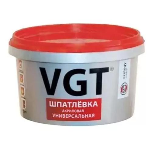Шпатлевка универсальная VGT акриловая, 18 кг