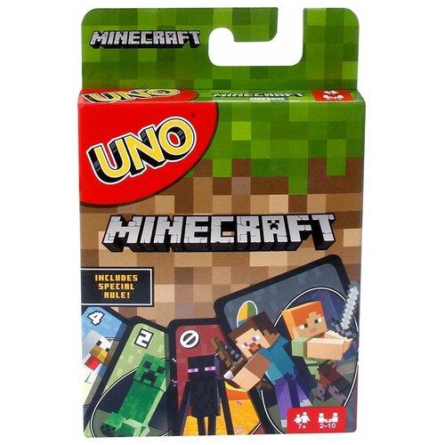 Настольная игра Mattel Uno Майнкрафт FPD61