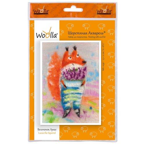 Купить Woolla WA-0156 набор Бельчонок Лукас ., Валяние