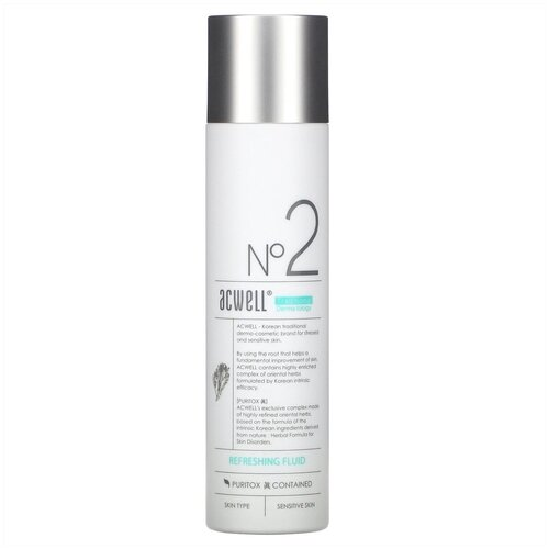 Acwell Refreshing Fluid Освежающий флюид для жирной кожи, 130 мл