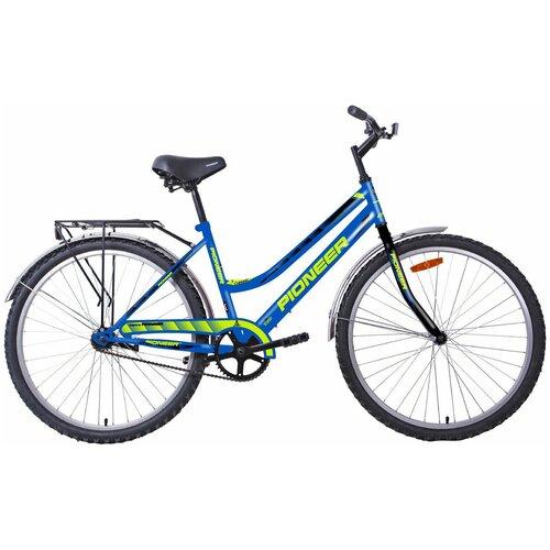 Велосипед PIONEER Classic 26/16 2020-2021 blue-black-green