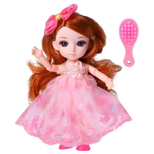 Кукла шарнирная Funky Toys Малышка Лили, с расческой, 16 см (FT72001)