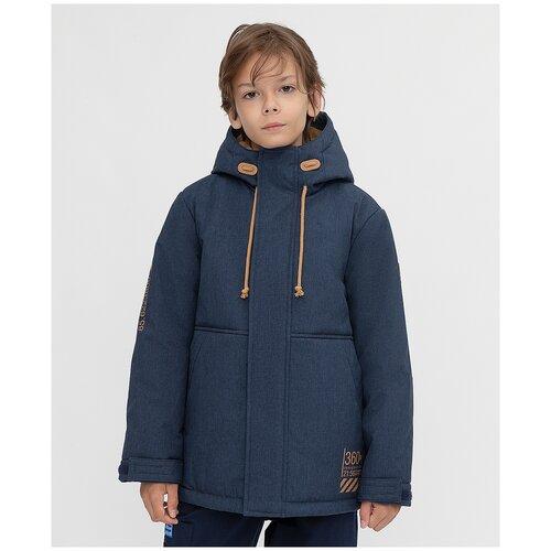 Фото - Куртка Button Blue размер 140, синий куртка button blue 220bbbjc41024800 размер 140 зеленый