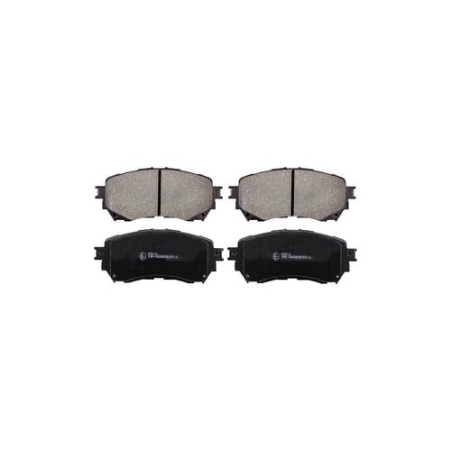 ICER 182126 (G4YA3328Z / G4YA3328ZA / GHY13328Z) колодки дисковые передние\ Mazda (Мазда) 6 2.0 / 2.2d 12>