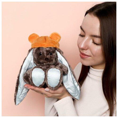Зайки Li&Lu Мягкая игрушка зайка «Мишутка Lu»
