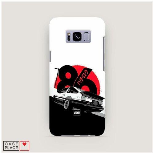 Чехол Пластиковый Samsung Galaxy S8 Toyota AE86