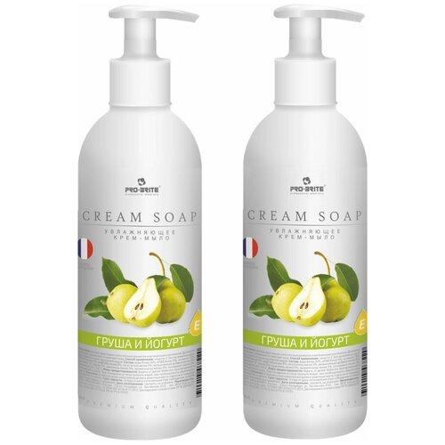 Купить 2 Шт. - Pro-Brite Cream Soap Жидкое крем-мыло Груша и йогурт 500мл.