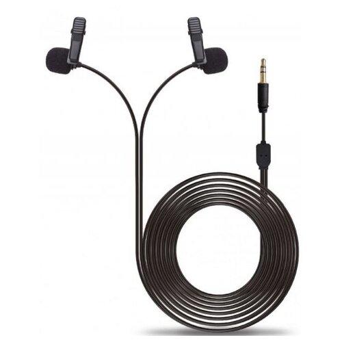 Микрофон Raylab Raylab Rec. DH LavMic двойной, черный